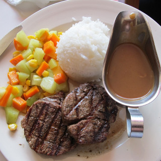 Steak at Meat Plus Cafe & The Food in Anvaya Cove