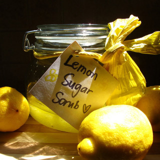 Domestic Goddess: Lemon Sugar Scrub