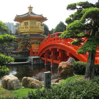 Hong Kong Day 2: Chi Lin Nunnery & Nan Lian Garden