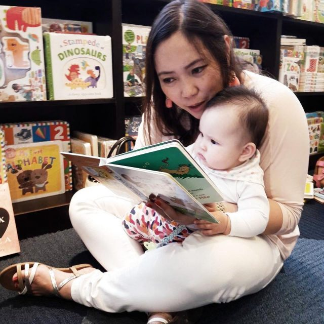 Starting her early girlswhoread gratefulheart2017